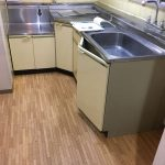 【キッチン】 シンク ガス台 隅用調理台 レンジフード換気扇 交換
