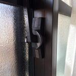 【居室】サッシクレセント 掃出し窓 クレセント錠交換